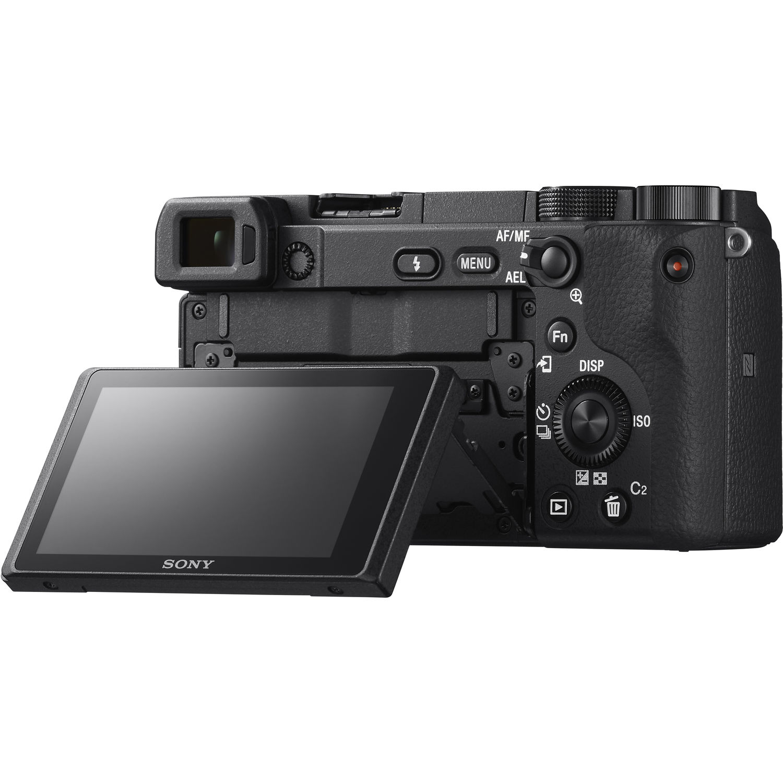 دوربین عکاسی a6400 سونی با لنز 50-16 میلیمتری