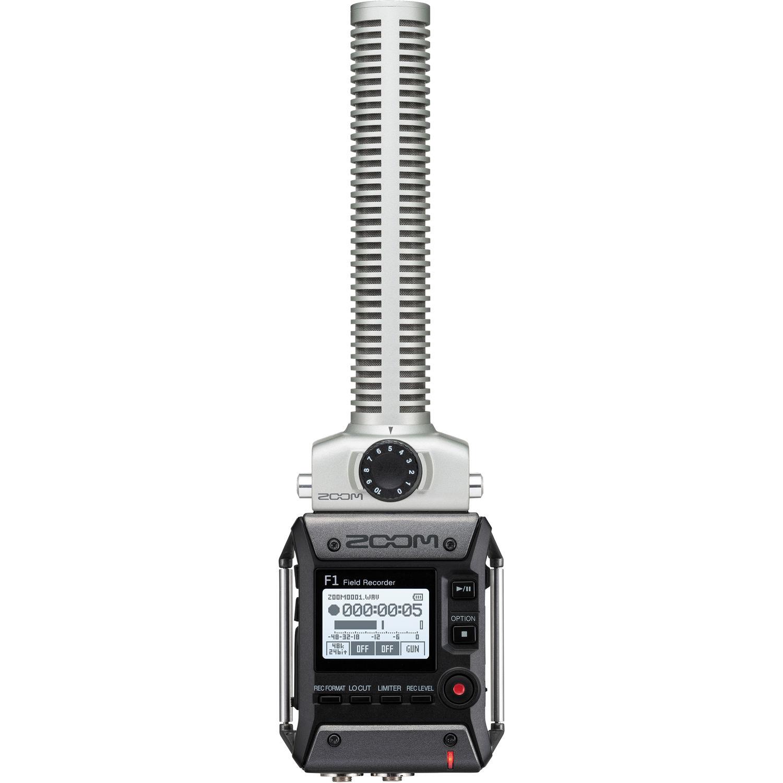 رکوردر صدای زوم F1-SP با گان صدا
