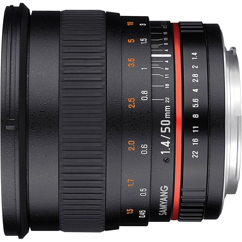 لنز سامیانگ 50mm f/1.4 AS UMC For Canon EF