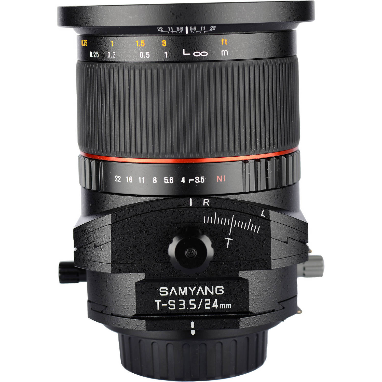لنز سامیانگ 24mm f/3.5 ED AS UMC Tilt-Shift for Nikon