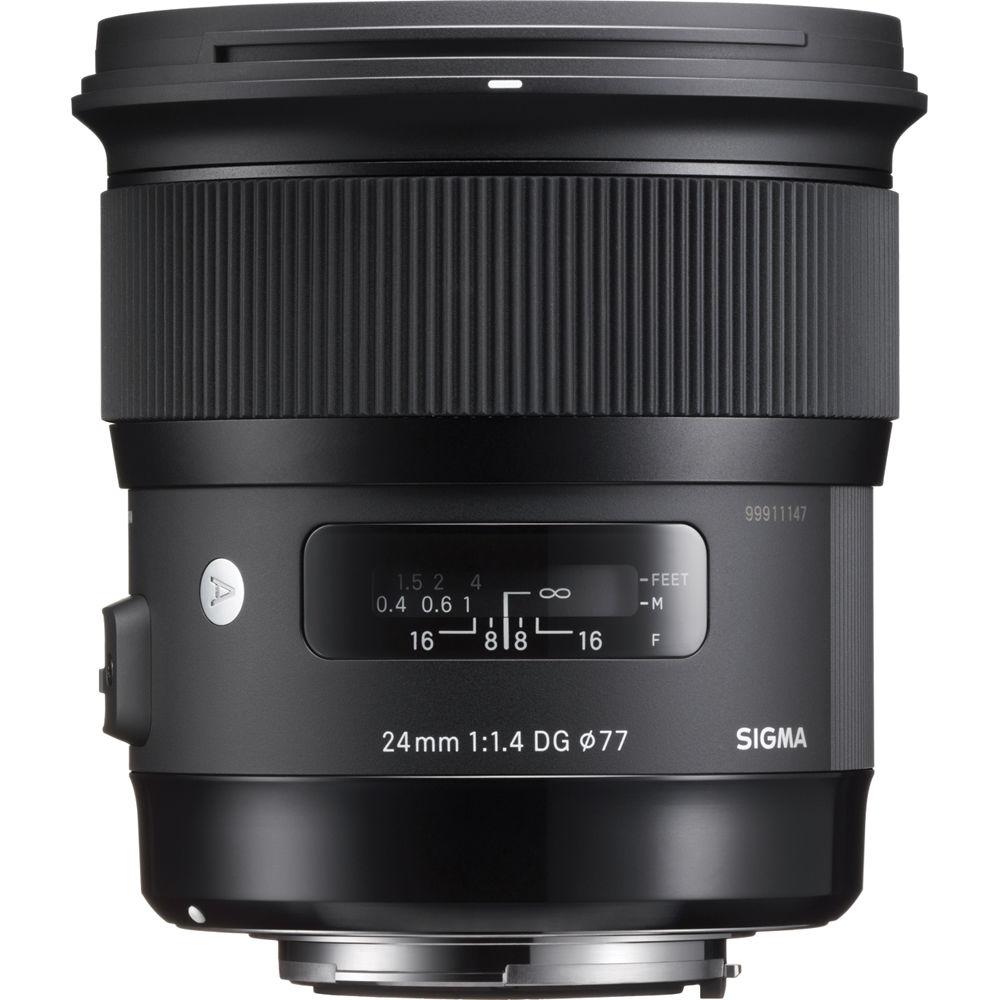 لنز سیگما 24mm f/1.4 DG HSM Art for Nikon F