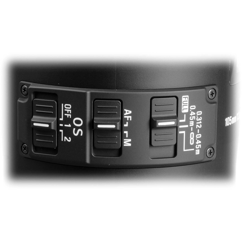 لنز سیگما 105mm f/2.8 EX DG OS HSM Macro for Canon EOS Cameras