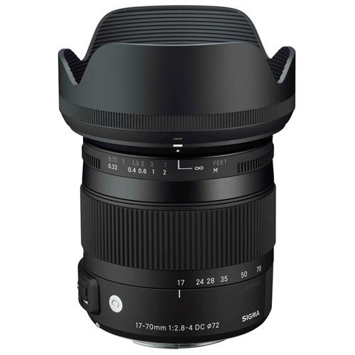 لنز سیگما Sigma 17-70mm f/2.8-4 DC Macro OS HSM for Nikon