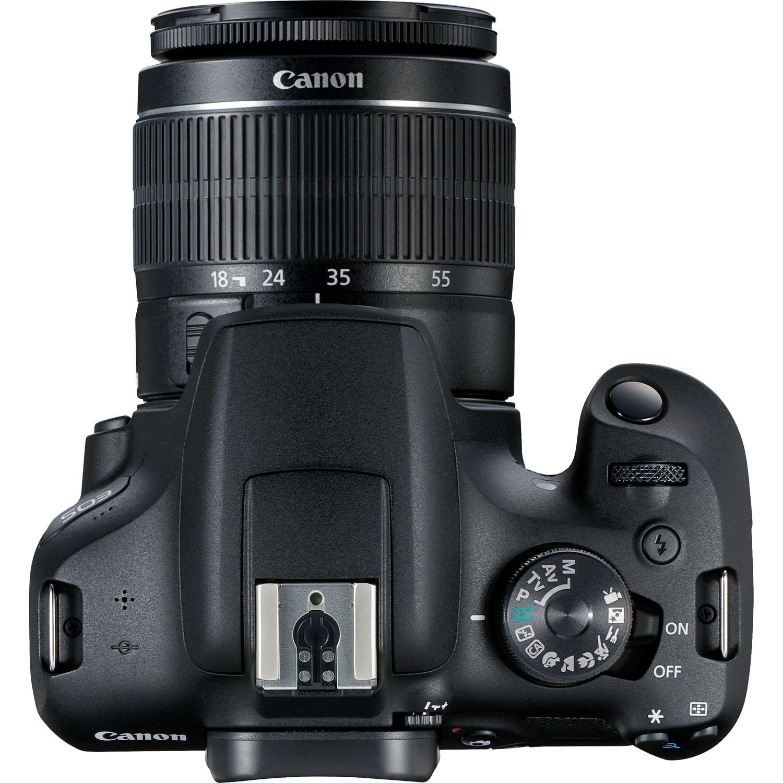 دوربین کانن مدل EOS 2000D همراه با لنز 18-55 میلیمتر f/3.5-5.6 III