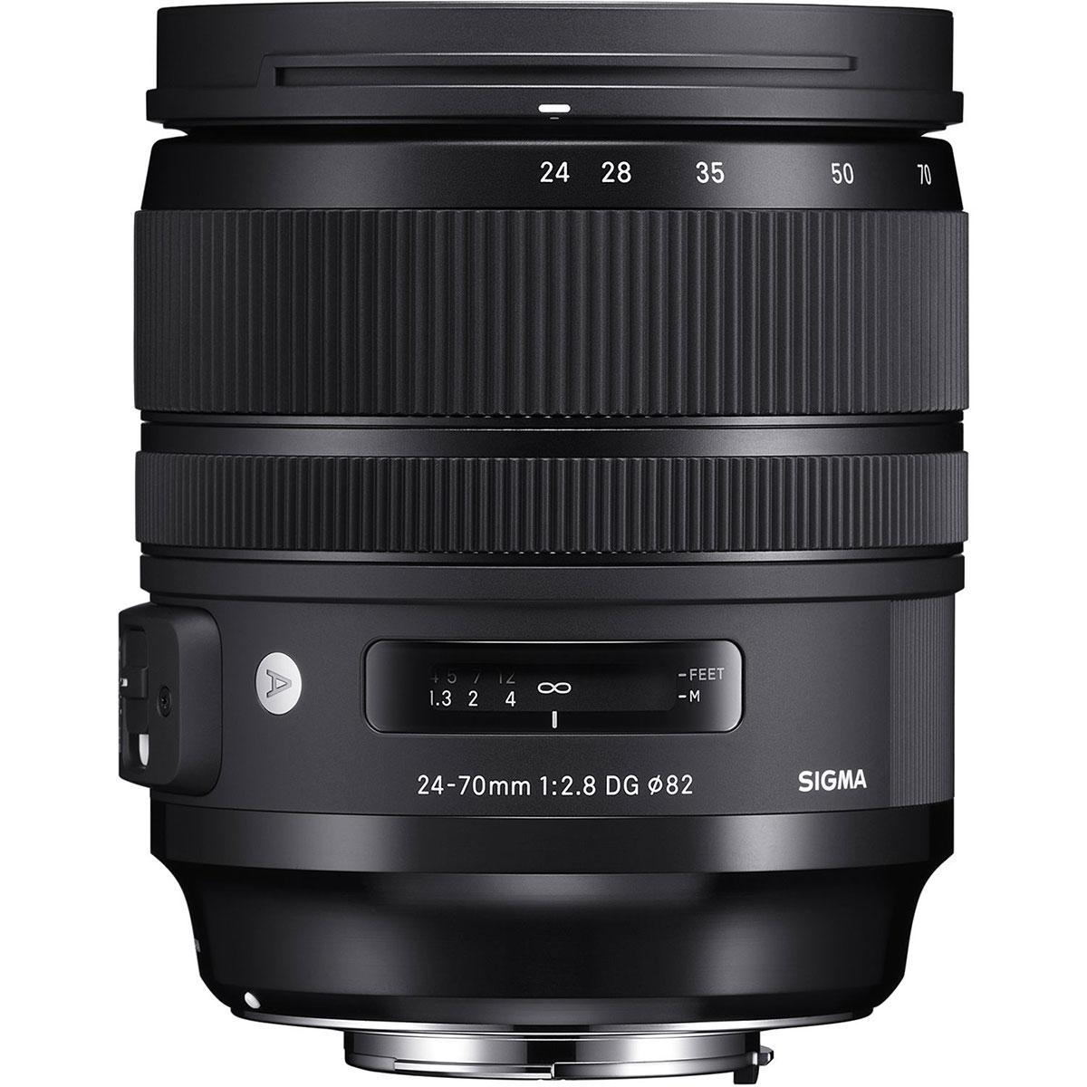 لنز سیگما مدل 24-70mm f/2.8 DG OS مناسب برای دوربین کانن