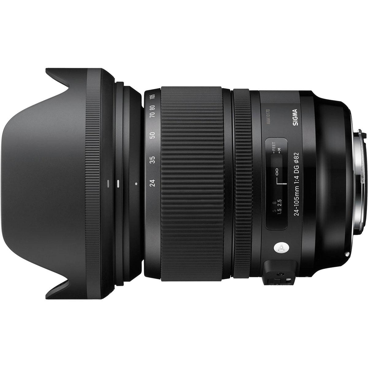 لنز سیگما مدل 24-105mm f/4 DG OS مناسب برای دوربین کانن