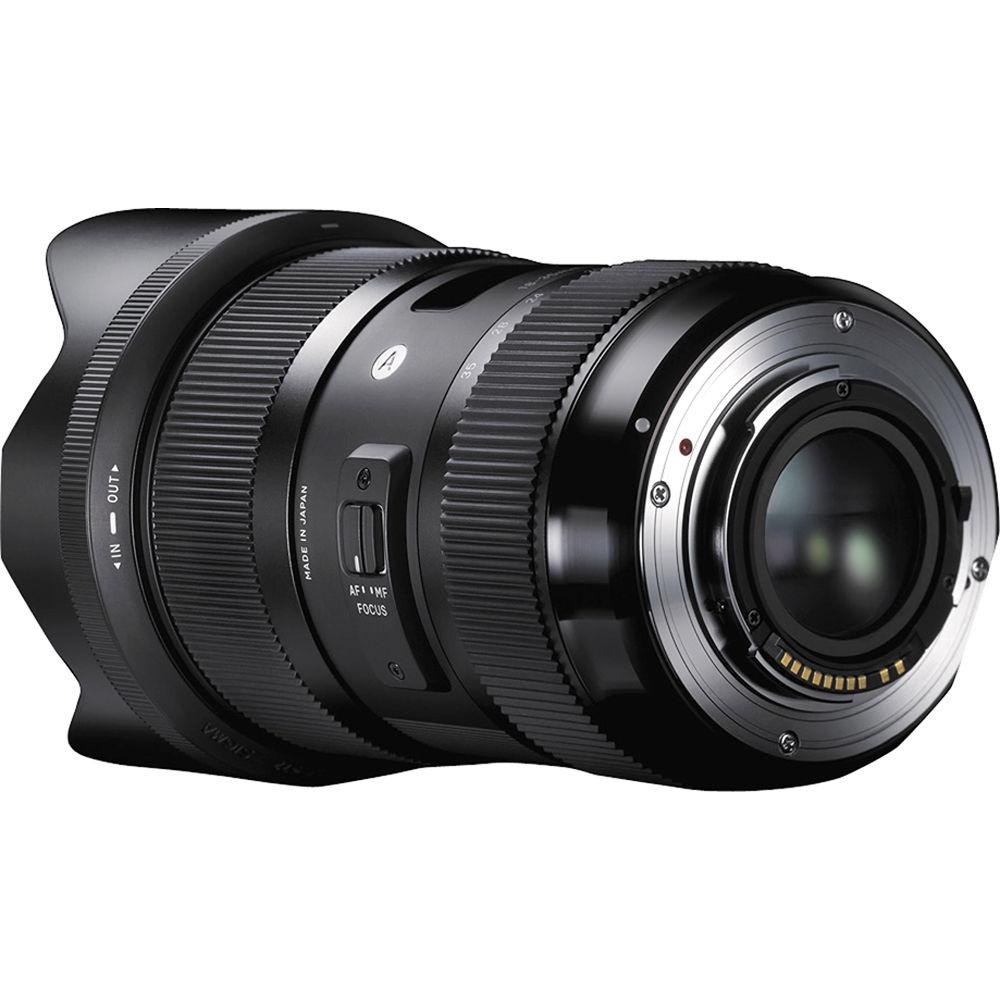 لنز سیگما مدل 35-18 میلیمتر مدل f/1.8 DC مناسب برای دوربین سونی Sigma