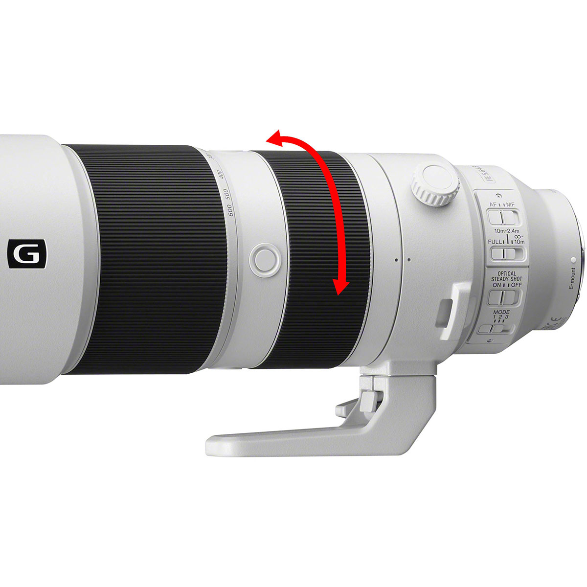 لنز سونی مدل FE 200-600 F5.6-6.3 G OSS