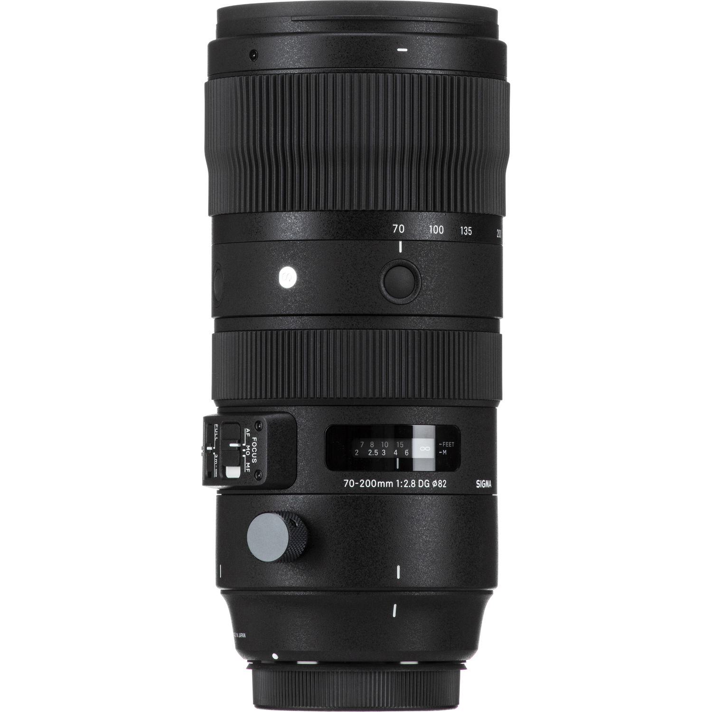 لنز سیگما مدل 70-200 میلیمتر مدل f/2.8 DG OS HSM Sports مناسب برای دوربین کانن