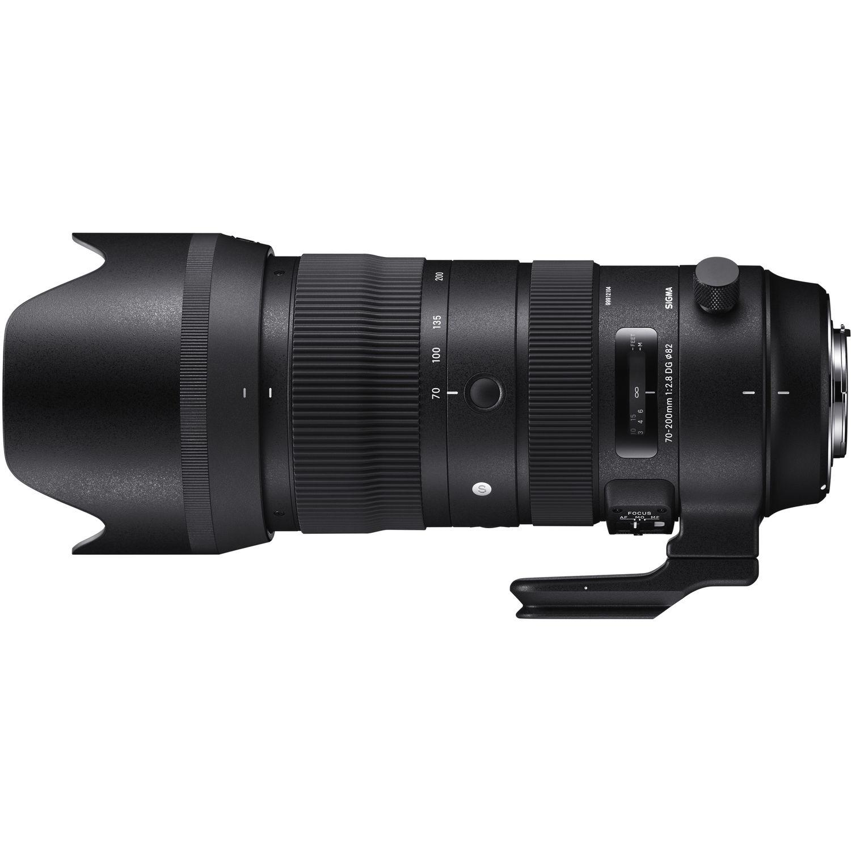 لنز سیگما مدل 70-200 میلیمتر مدل f/2.8 DG OS HSM Sports مناسب برای دوربین نیکون