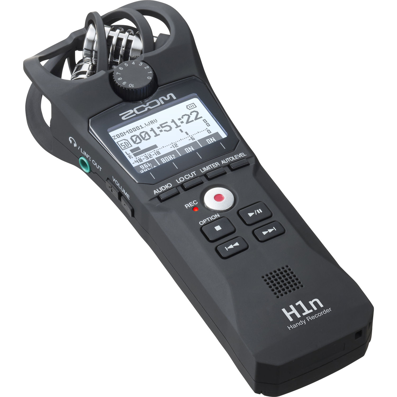 رکوردر صدای دستی زوم مدل H1n