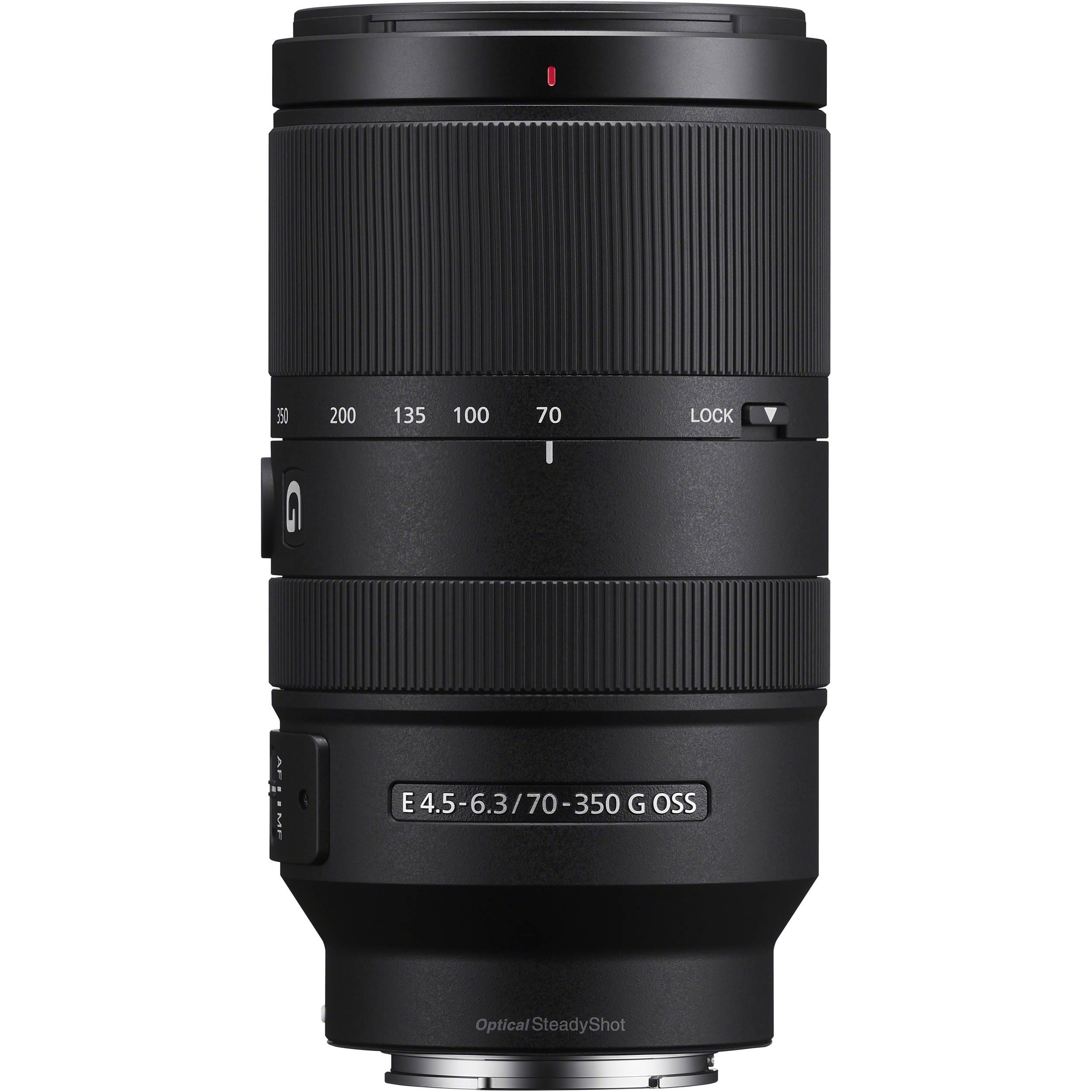 لنز سونی مدل 70-350 میلیمتر مدل f/4.5-6.3 G OSS