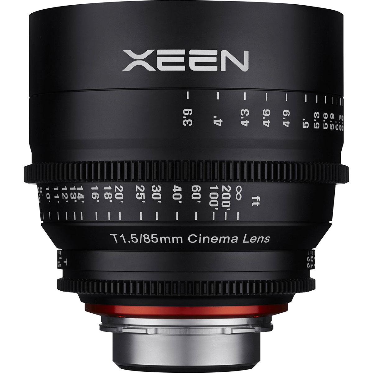 لنز سامیانگ مدل Xeen 85mm T1.5 مناسب برای دوربین سونی