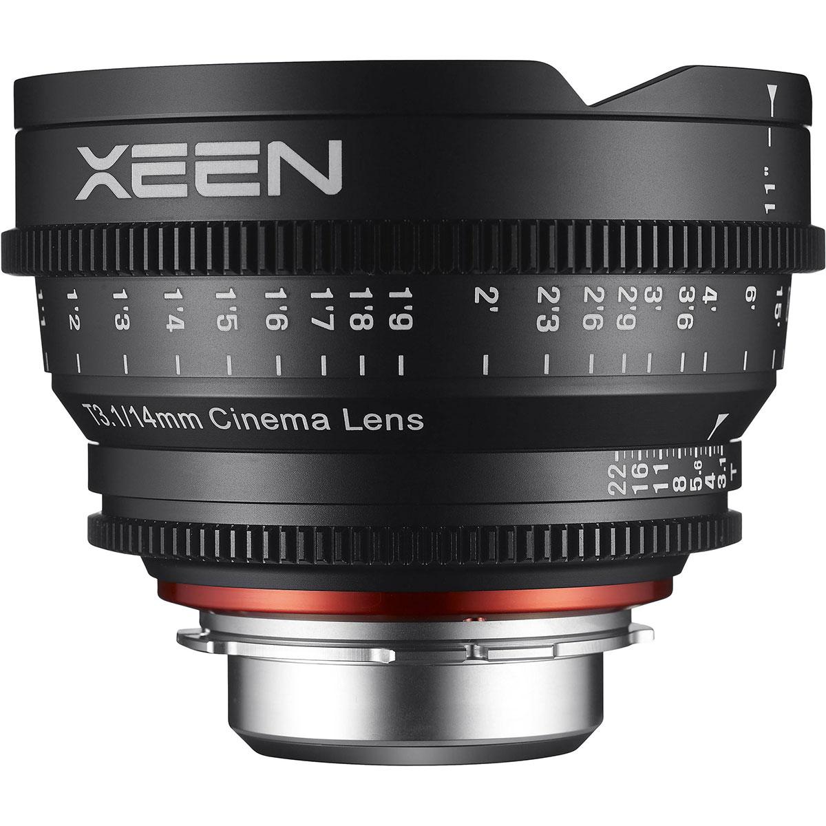 لنز سامیانگ مدل Xeen 14mm T3.1 مناسب برای دوربین سونی