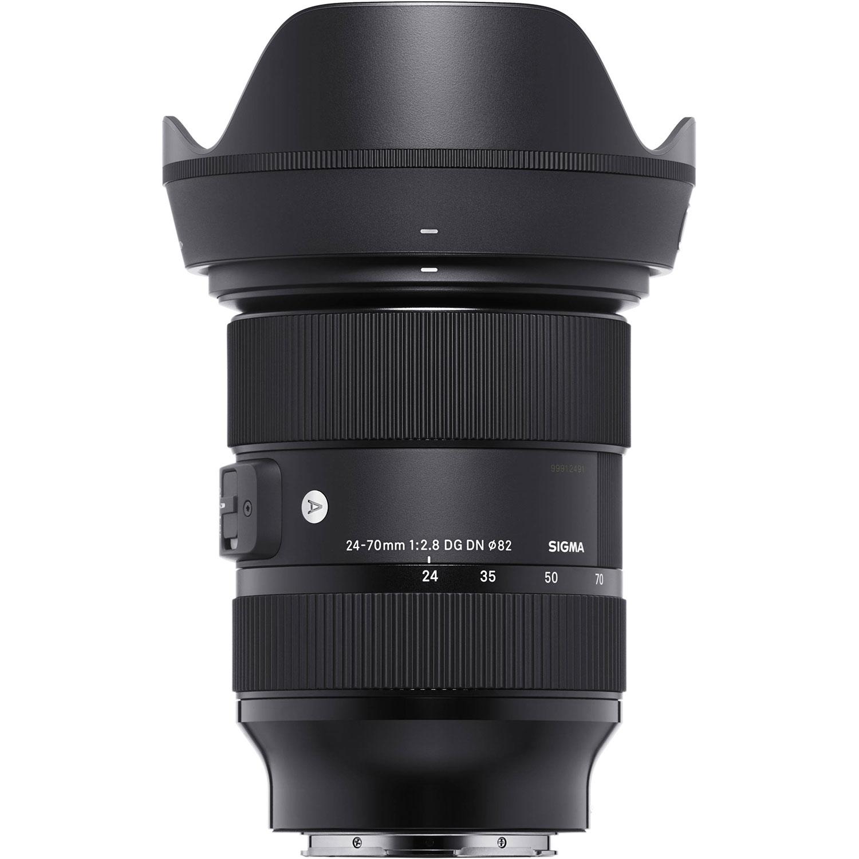 لنز سیگما 70-24 میلیمتر مدل f/2.8 DG DN Art مناسب برای دوربین سونی