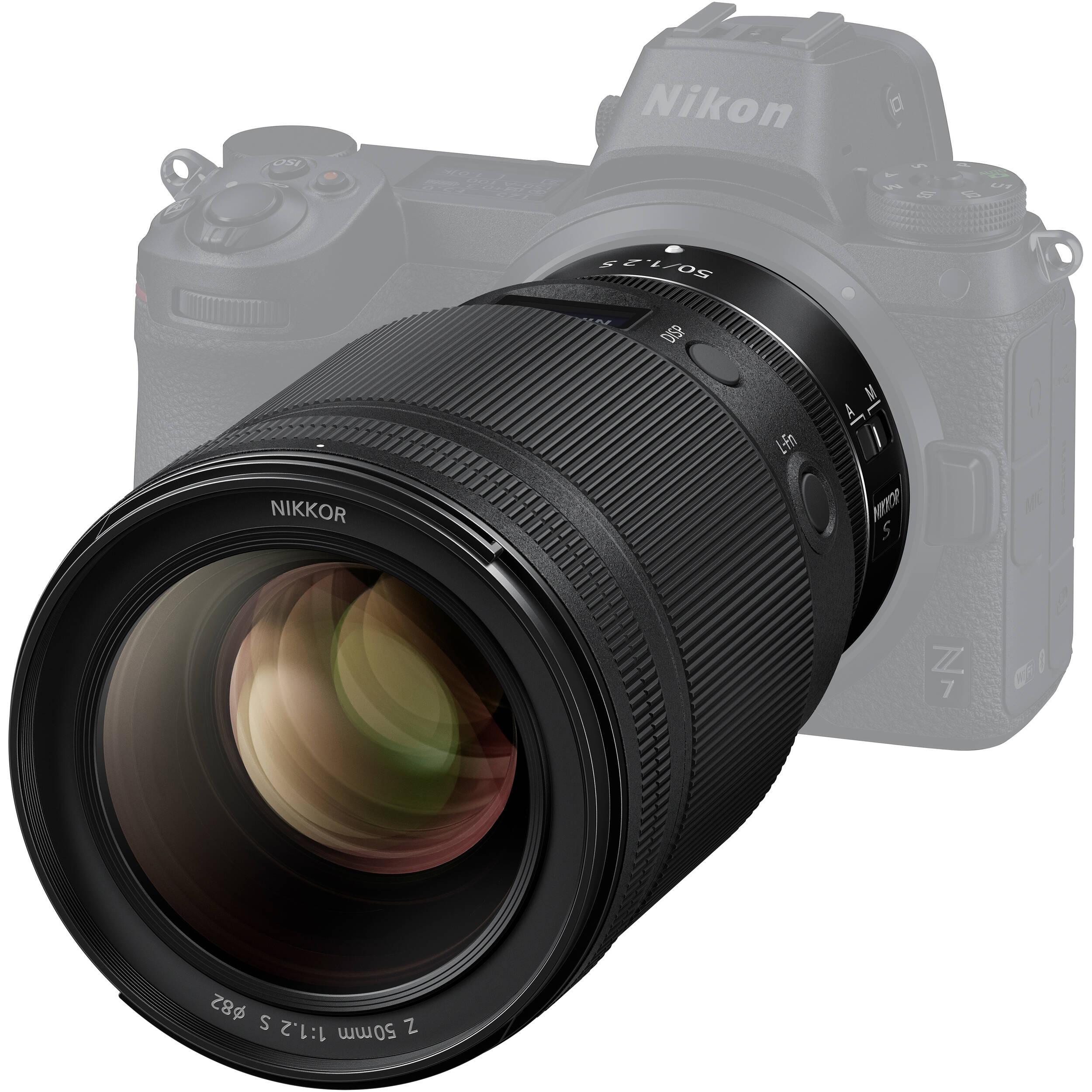 لنز نیکون مدل Z 50mm f/1.2 S