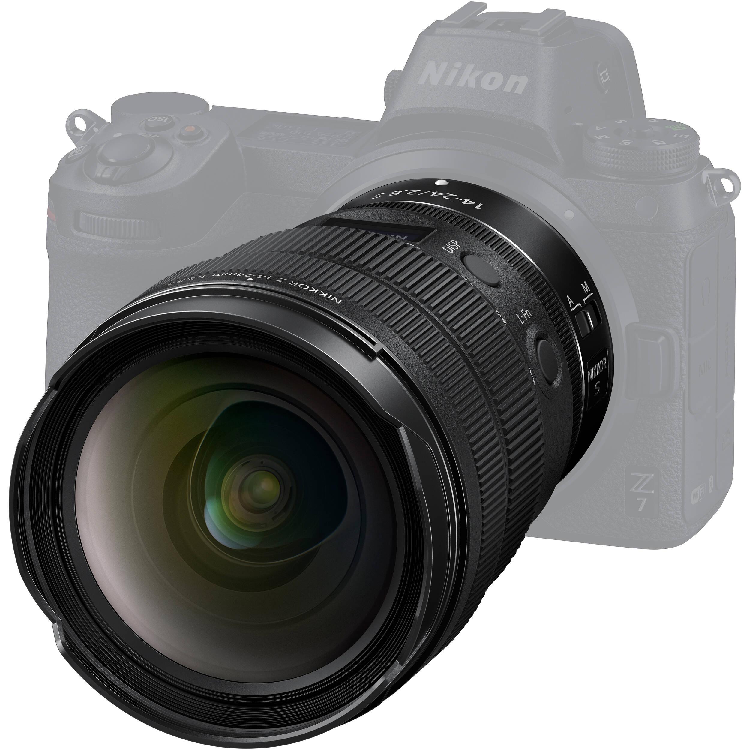 لنز نیکون مدل Z 14-24mm f/2.8 S