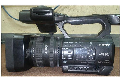 دوربین فیلمبرداری کارکرده سونی Z150