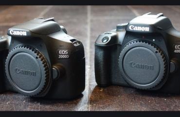 نقد و بررسی دوربین کانن 2000D و دوربین کانن 4000D