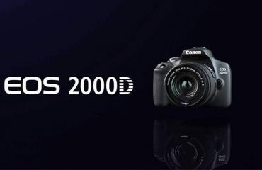 بررسی و آشنایی با دوربین کانن 2000D