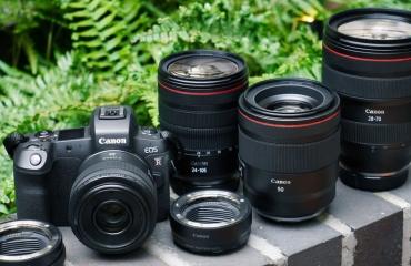 دوربین EOS R کانن معرفی شد
