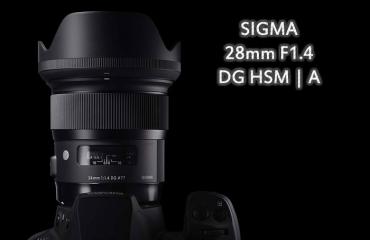 سیگما لنز 28mm F1.4 DG HSM I A را عرضه کرد