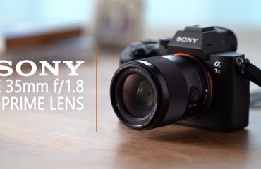 سونی لنز Sony FE 35mm f/1.8 را رونمایی کرد