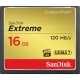 کارت حافظه CompactFlash سن ديسک مدل Extreme سرعت 800X 120MBps ظرفيت 16 گيگابايت