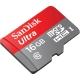 کارت حافظه microSDHC سن ديسک مدل Ultra کلاس 10 استاندارد UHS-I U1 سرعت 533X 80MBps همراه با آداپتور SD ظرفيت 16 گيگابايت