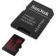 کارت حافظه microSDXC سن ديسک مدل Ultra کلاس 10 استاندارد UHS-I U1 سرعت 533X 80MBps همراه با آداپتور SD ظرفيت 128 گيگابايت