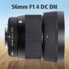 سیگما لنز 56mm F1.4 DC DN I C را عرضه کرد
