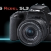 کانن EOS Rebel SL3 را معرفی نمود