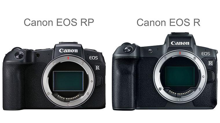 دوربین کانن EOS R و EOS RP