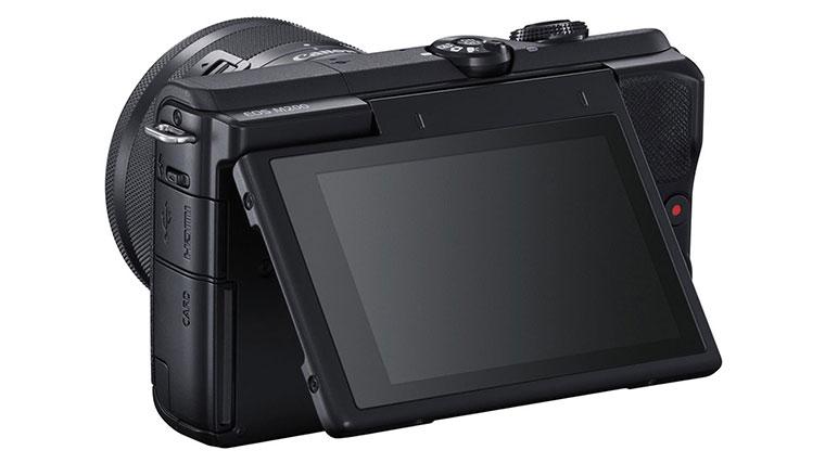 صفحه نمایش دوربین کانن M200
